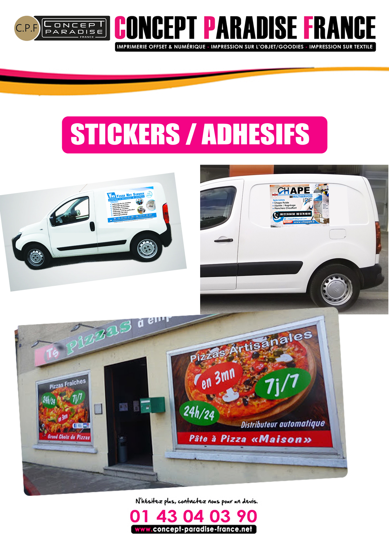 STICKERS / ADHESIFS