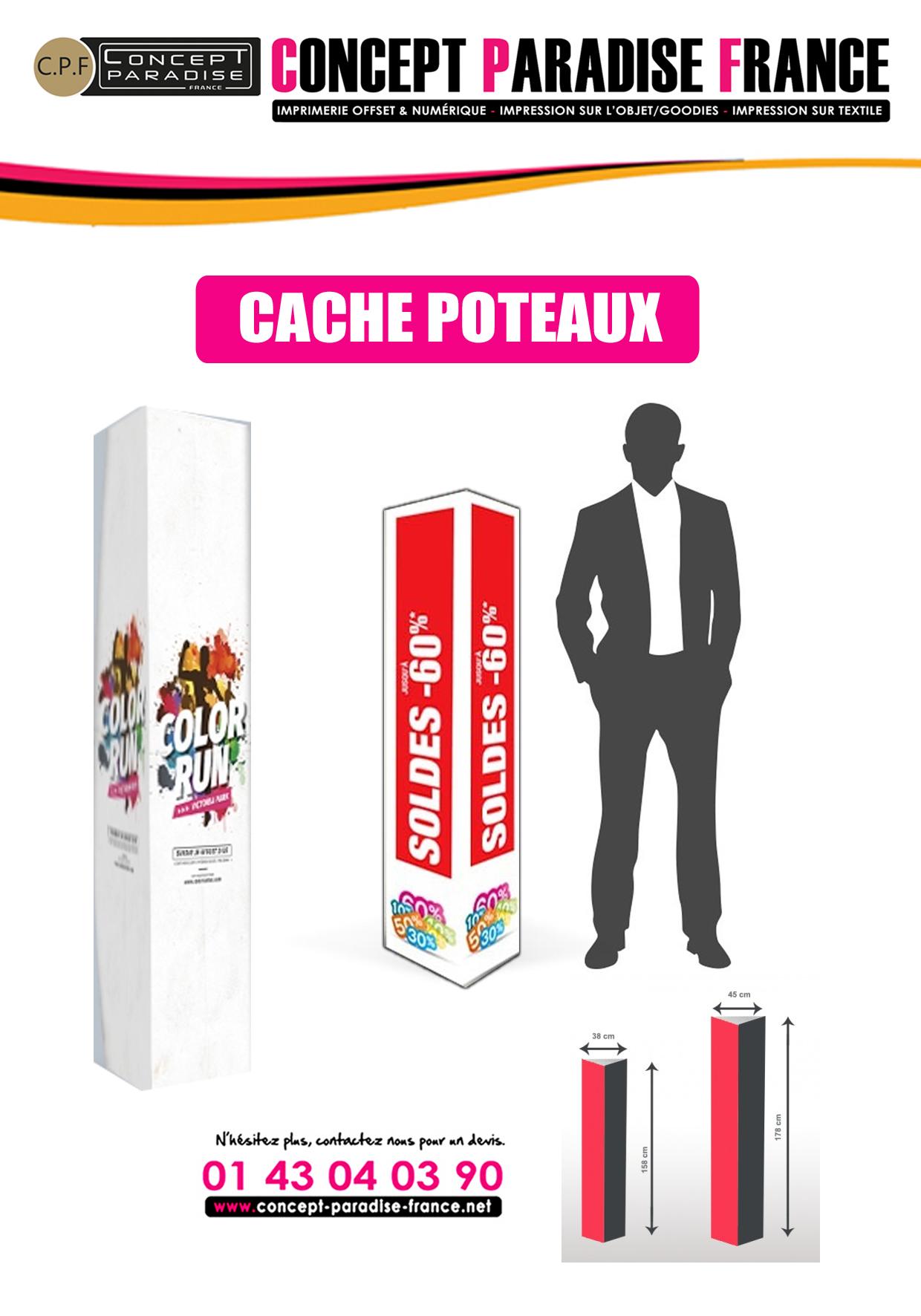 CACHE POTEAUX