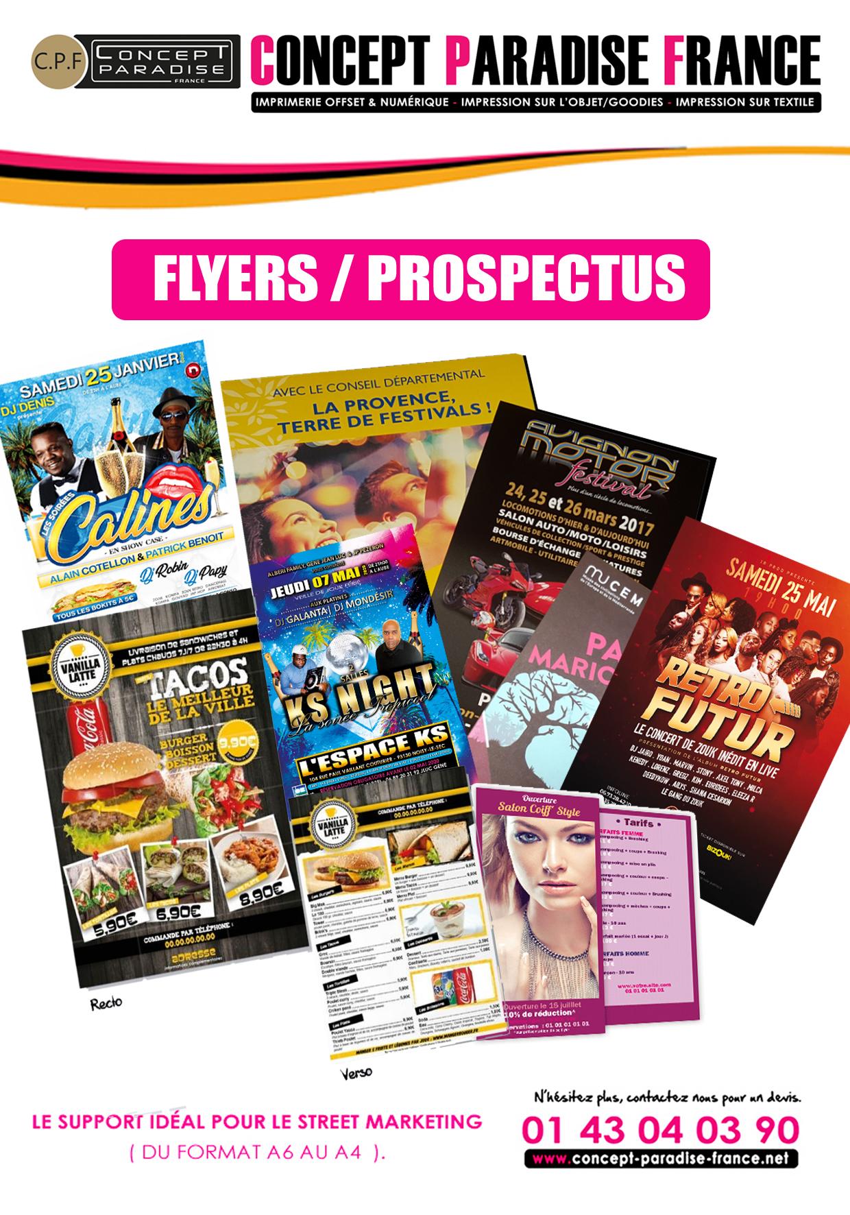 Flyers / Prospectus