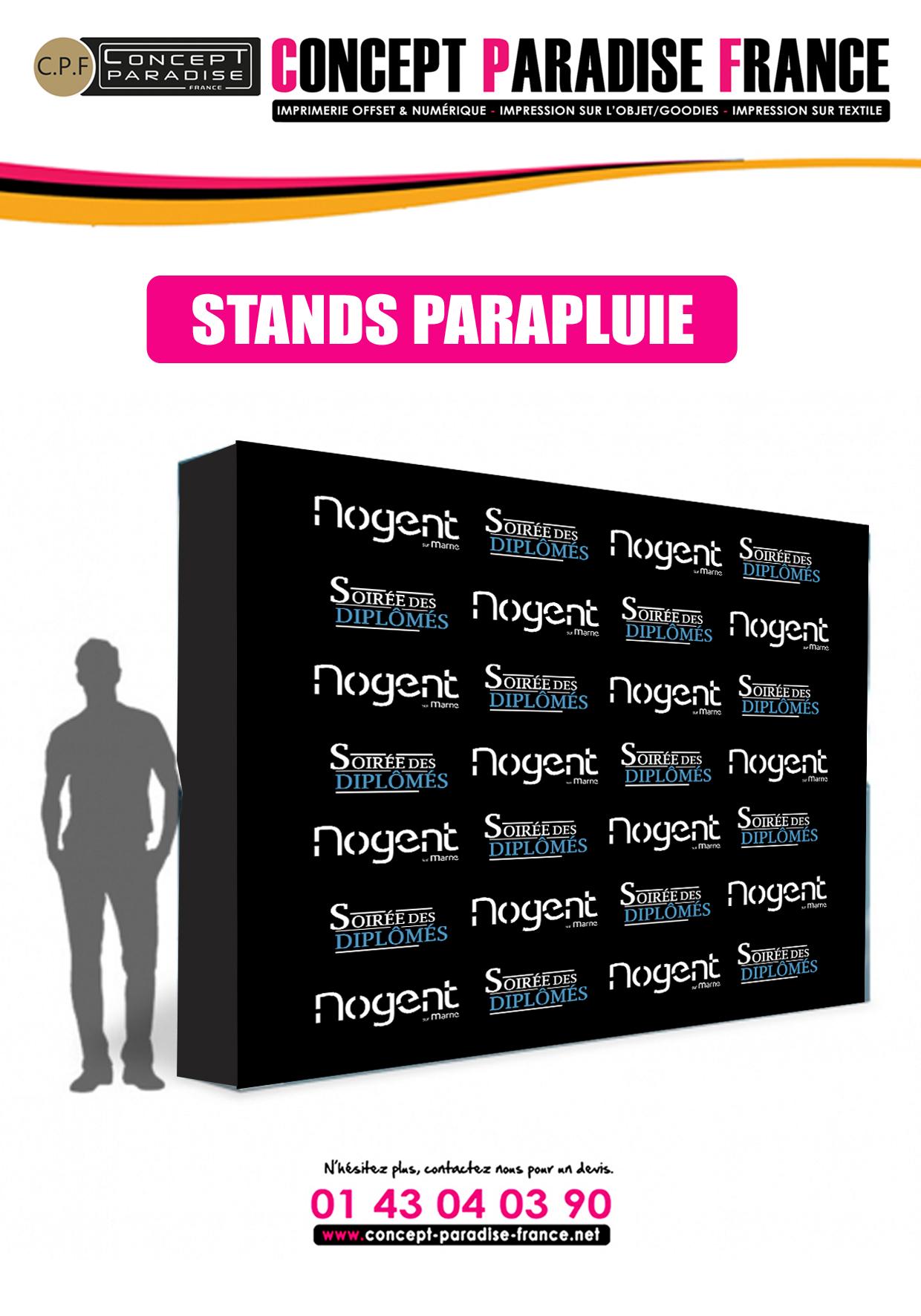 STANDS PARAPLUIE