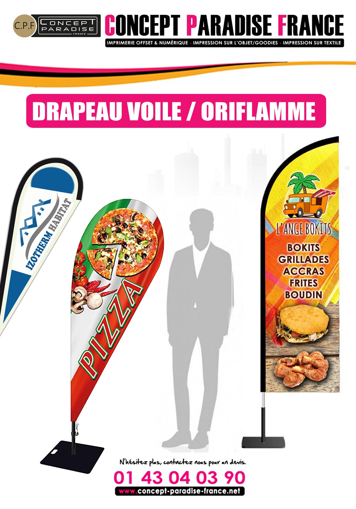 DRAPEAU VOILE