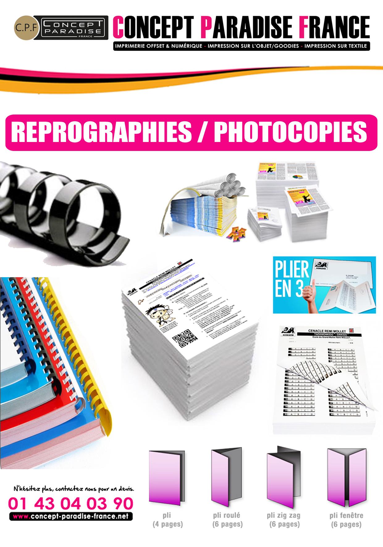 Reprographies / Photocopies